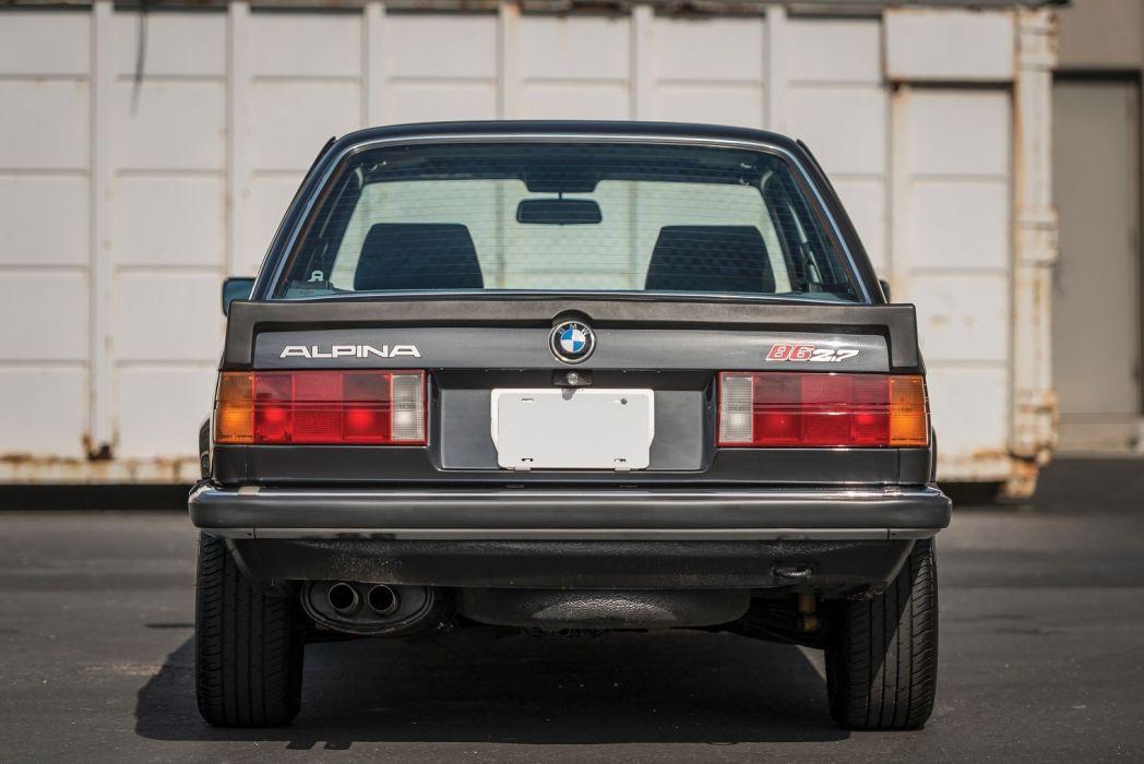 Alpina bmw (B6) Coupe (E30) cars 1984 wallpaper
