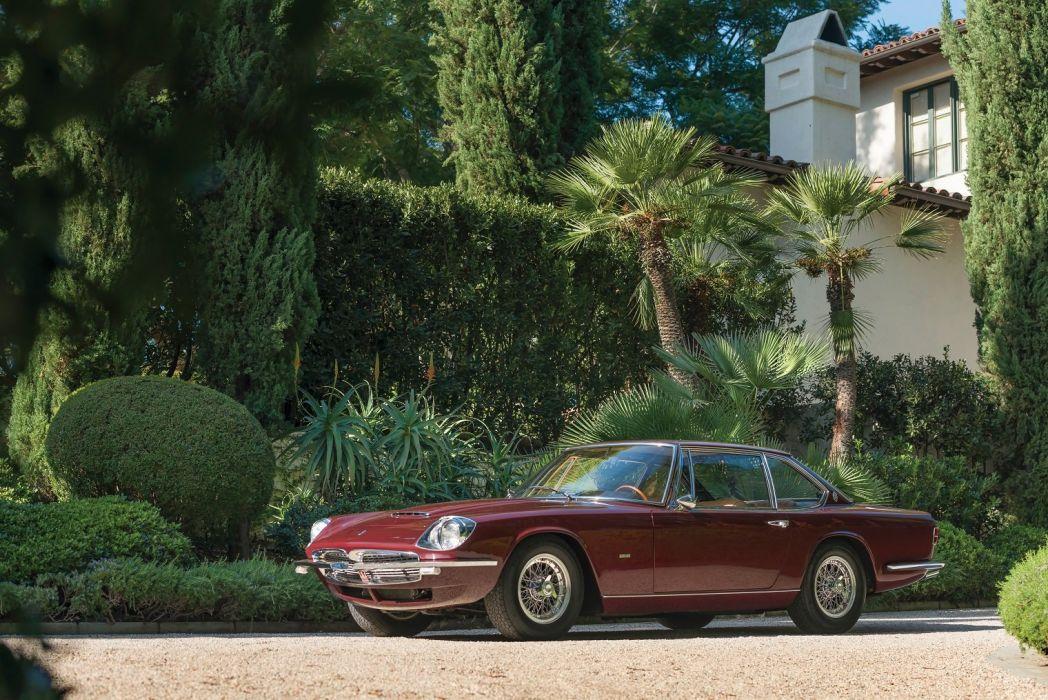 Maserati Mexico Prototipo Frua cars classic 1966 wallpaper