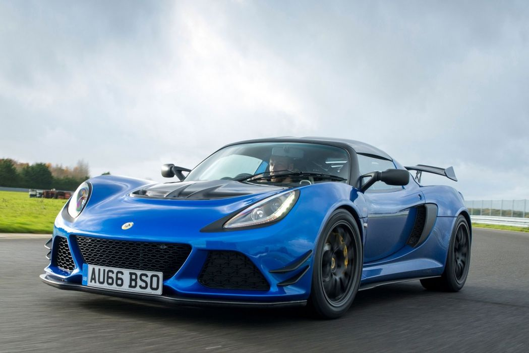 Lotus Exige Sport 380 UK-spec cars blue 2016 wallpaper