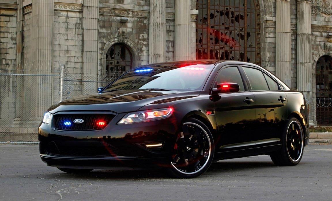 Ford Police Interceptor Sedan wallpaper