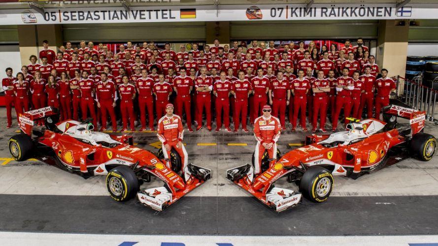 Scuderia formula one Team 2016 2016 Ferrari SF16-H cars racecars wallpaper