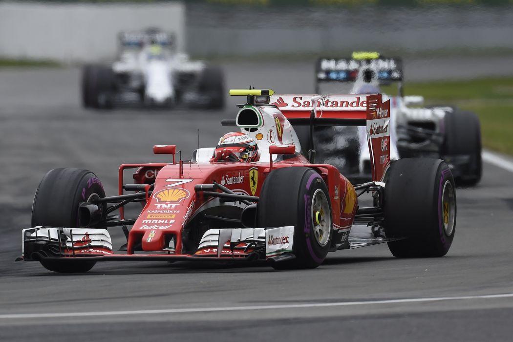 Kimi Raikkonen Ferrari SF16-H formula one 2016 scuderia team cars racecars wallpaper