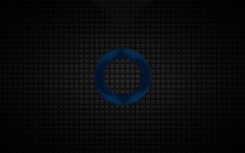 O Grid Blue wallpaper