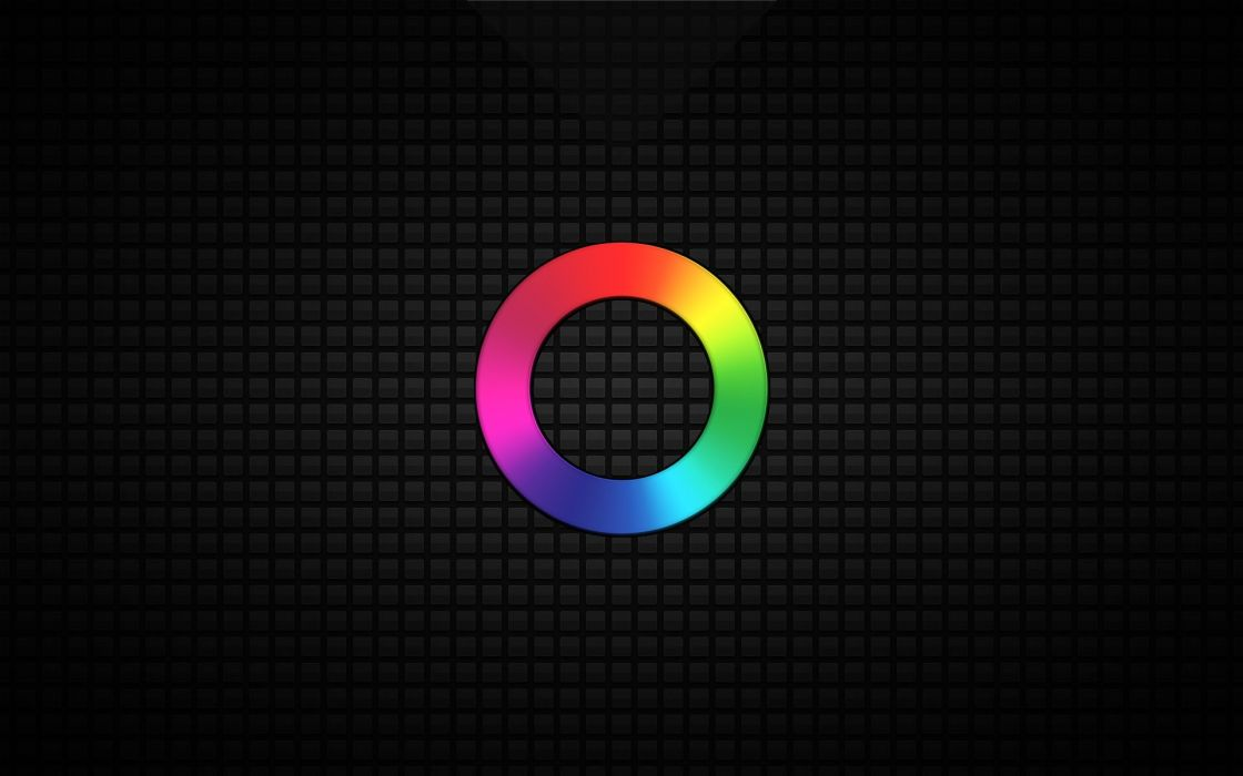 O Grid Rainbow wallpaper