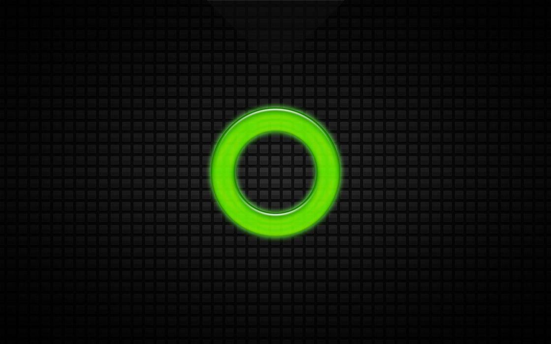 O Grid Green wallpaper