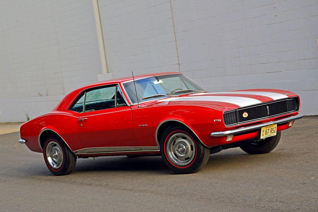 28 camaro 1967 (RS) cars red wallpaper
