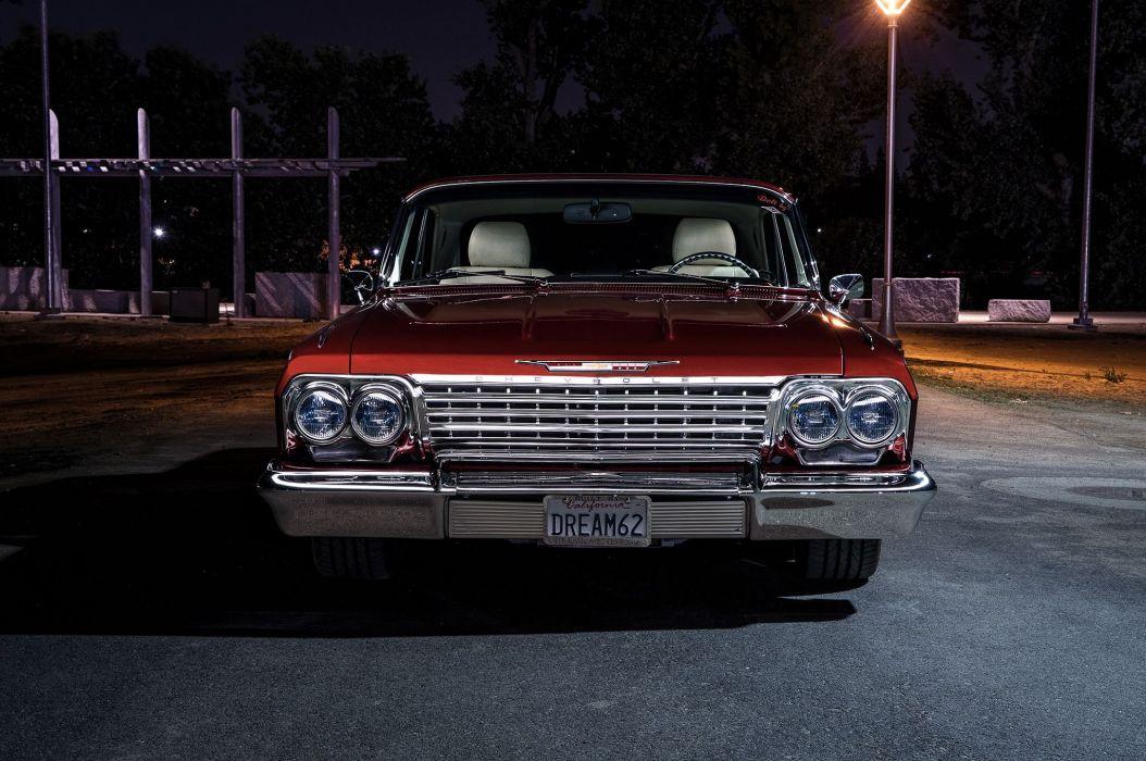 1962 chevrolet impala cars classic wallpaper