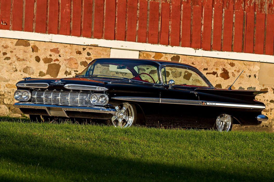 1959 chevrolet impala cars classic wallpaper