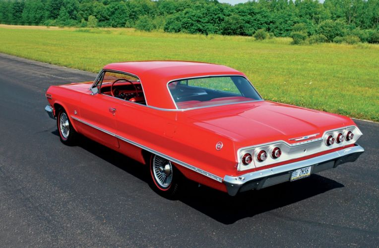 1963 chevrolet impala cars classic red wallpaper