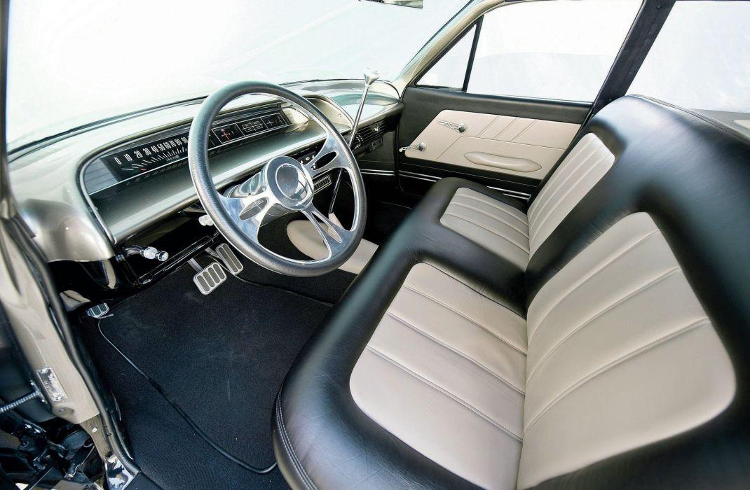 1963 chevrolet impala cars classic wagon wallpaper