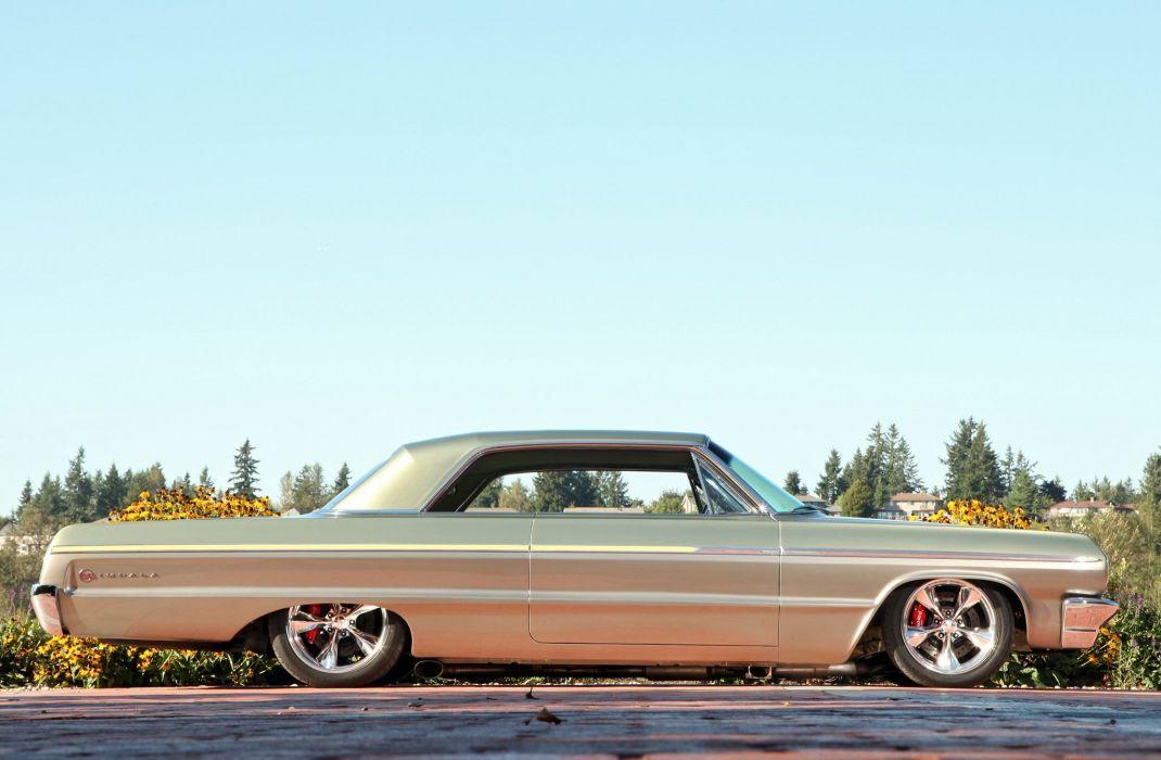 1964 chevrolet impala cars classic wallpaper