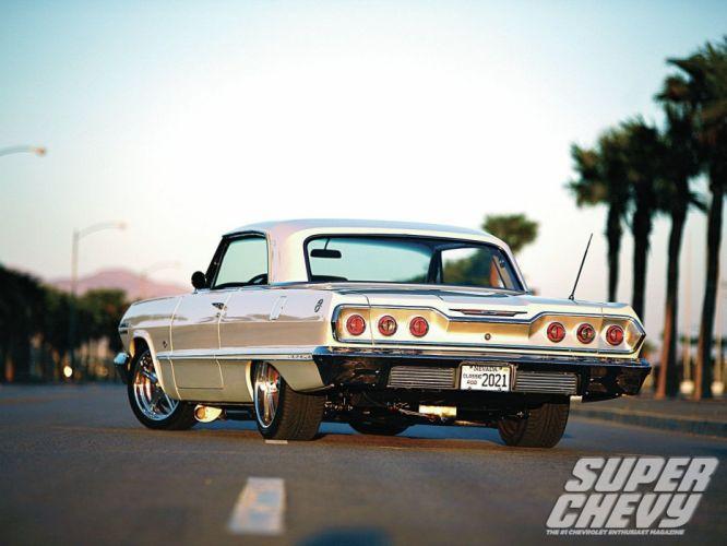 1963 chevrolet impala cars classic drag wallpaper