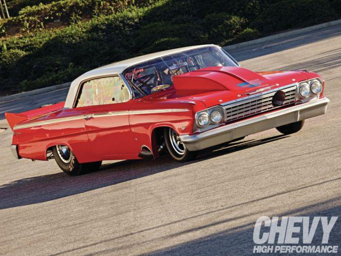 1962 chevrolet impala cars classic drag wallpaper