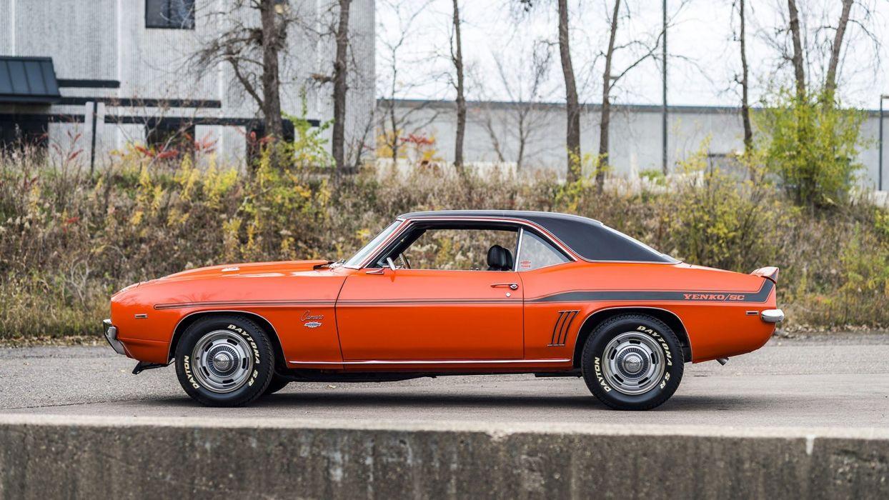 1969 CHEVROLET CAMARO YENKO cars orange wallpaper