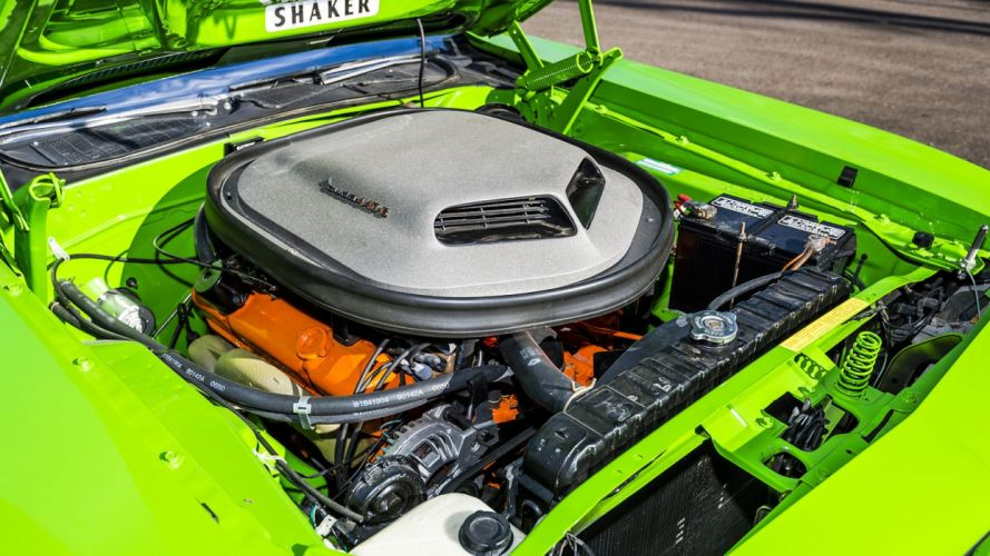 1970 PLYMOUTH CUDA 440 Six Pack cars green wallpaper