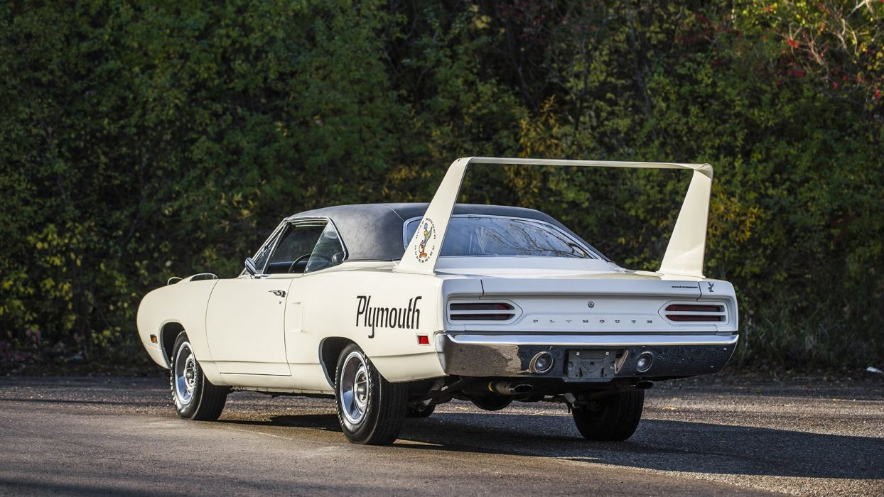 1970 PLYMOUTH SUPERBIRD 440 Six Pack white wallpaper