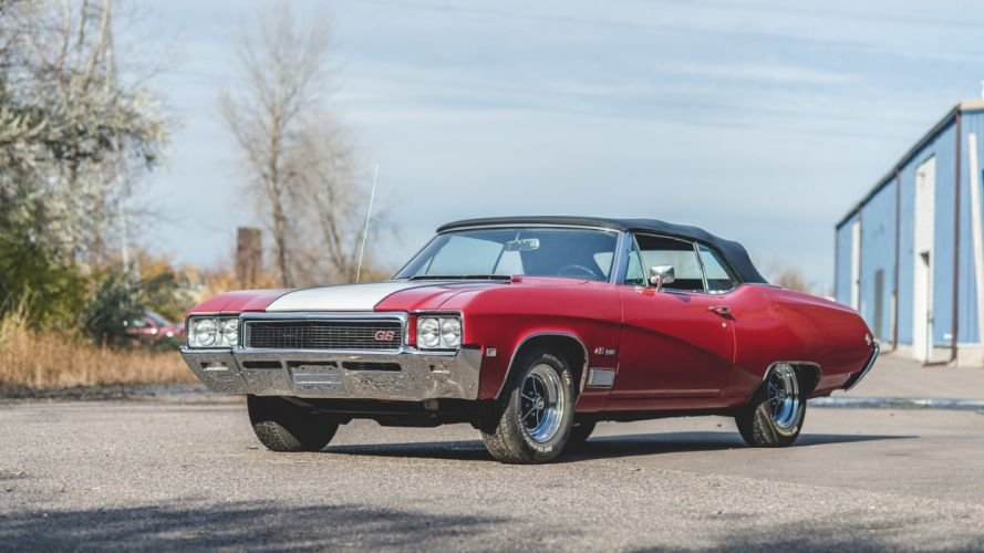 1968 BUICK (GS) CONVERTIBLE 400 cars wallpaper