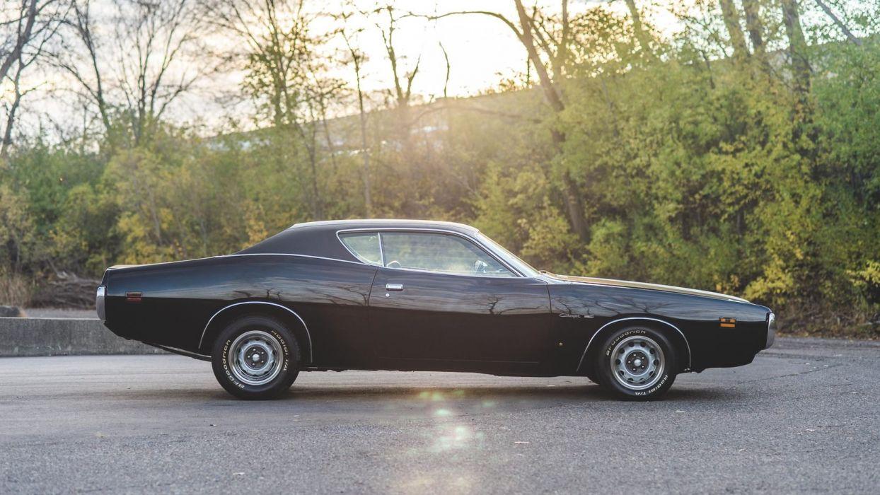 1971 DODGE CHARGER 383 cars black  wallpaper