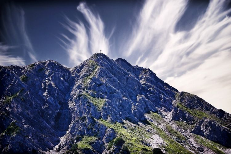 Landscape Mountains Sky wallpaper