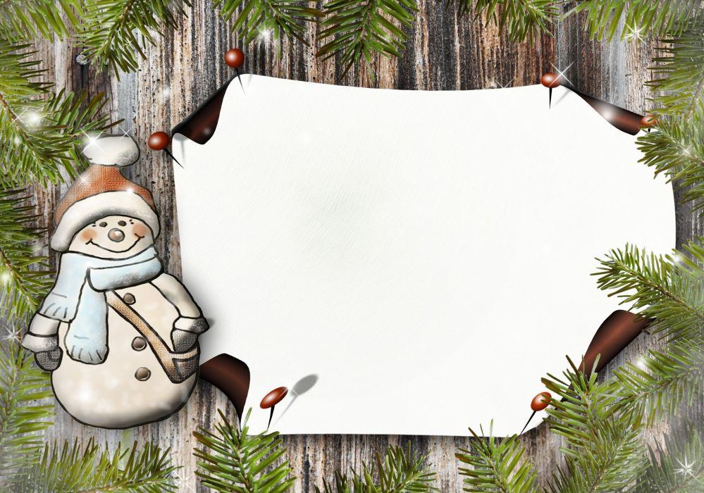 SnowMan Paper Greeting Card Postcard wallpaper