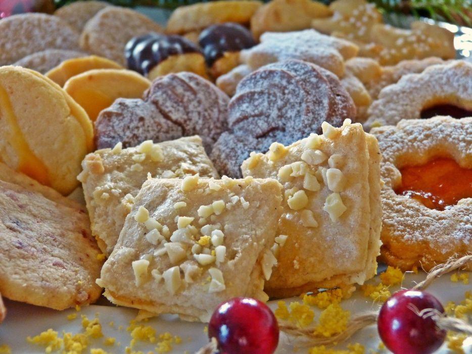 Cookie Christmas Advent Bake Cookies wallpaper