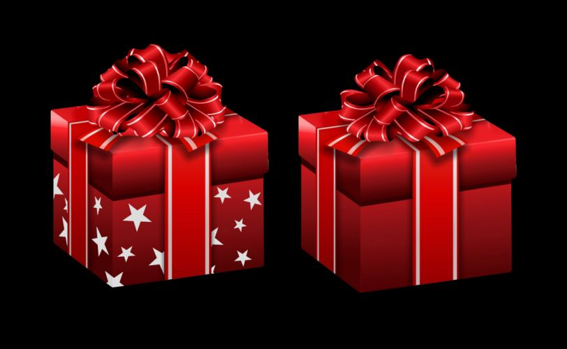 Gifts Holidays Christmas Gift Red wallpaper