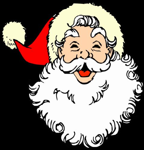 Santa Claus Merry Christmas Vintage Joy Noel wallpaper