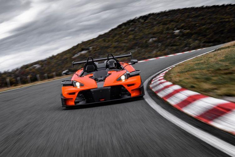 KTM X-Bow (RR) cars orange 2016 wallpaper