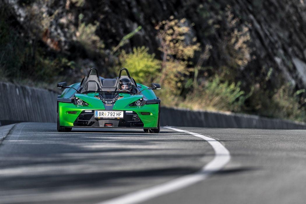 KTM X-Bow (R) cars green 2016 wallpaper