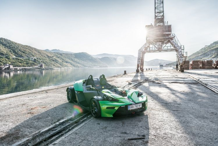 KTM X-Bow (R) cars green 2016 wallpaper