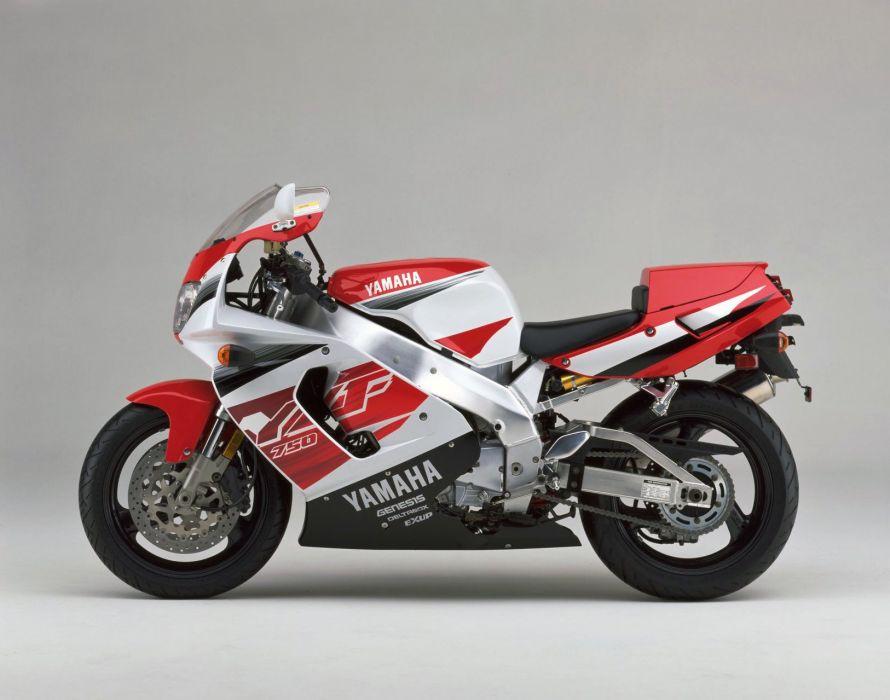 Yamaha YZF 750R motorcycles 1998 wallpaper