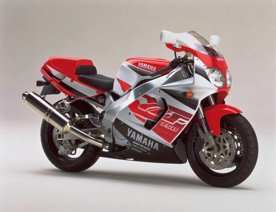 Yamaha YZF 750R motorcycles 1996 wallpaper