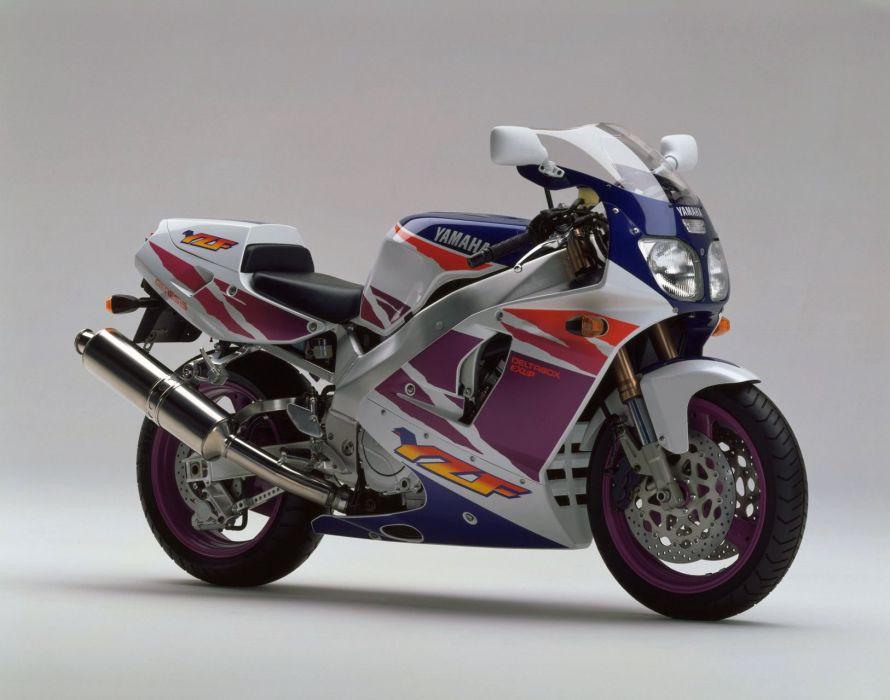 Yamaha YZF 750R motorcycles 1994 wallpaper