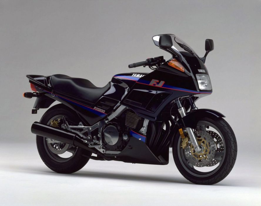 Yamaha FJ-1200 motorcycles 1990 wallpaper