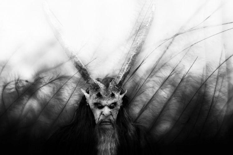 Beast Mask Monster Dark evil occult demon satan wallpaper