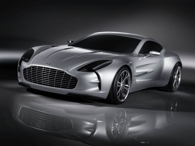 Aston Martin One-77 Concept 2008 wallpaper