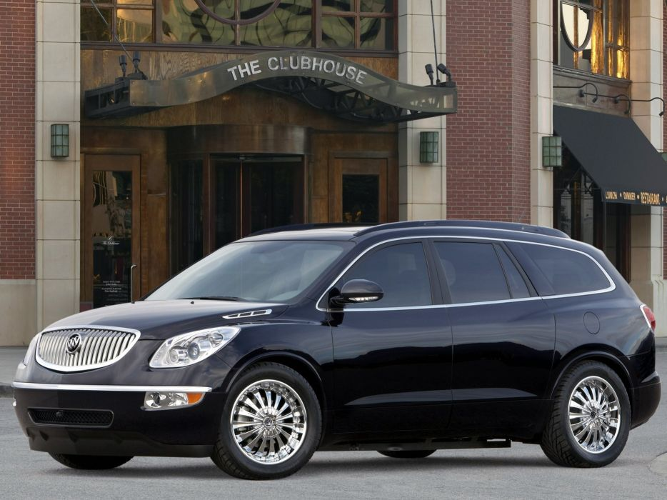 Buick Enclave Black Platinum Edition 2007 wallpaper