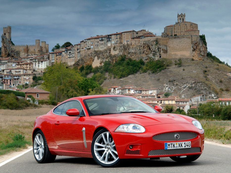 Jaguar XKR Coupe 2007 wallpaper