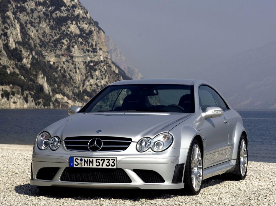 Mercedes-Benz CLK63 AMG Black Series 2007 wallpaper