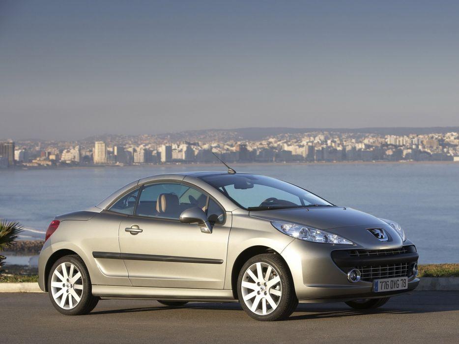 Peugeot 207 CC 2007 wallpaper