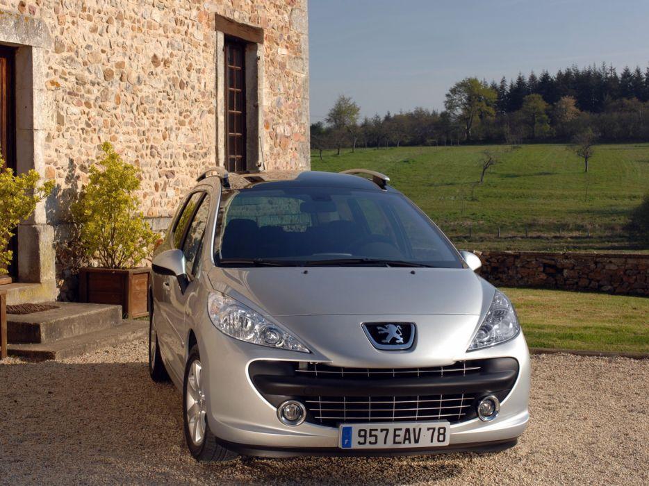 Peugeot 207 SW 2007 wallpaper