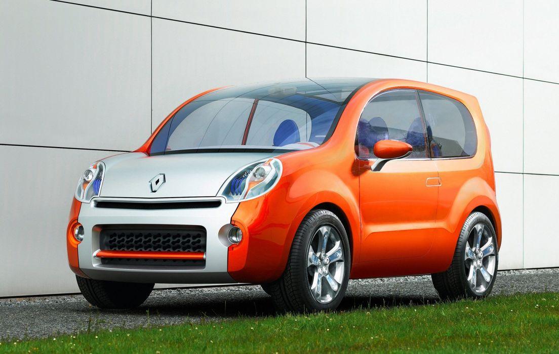 Renault Kangoo Compact Concept 2007 wallpaper