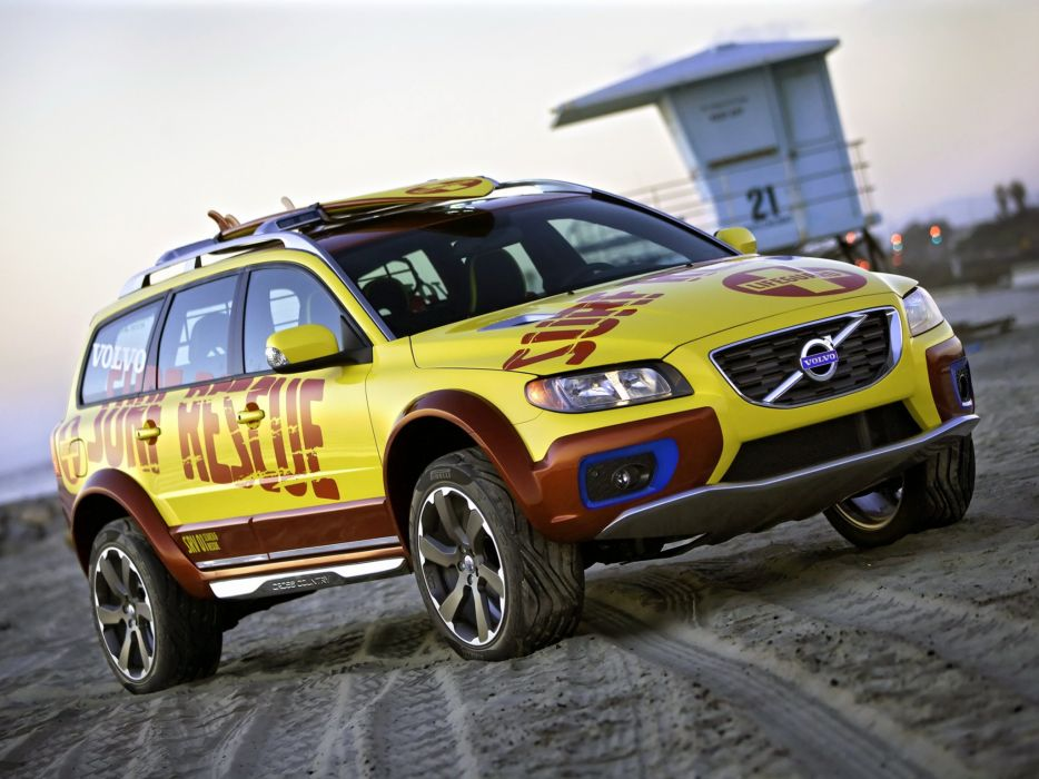 Volvo XC70 Surf Rescue Concept 2007 wallpaper