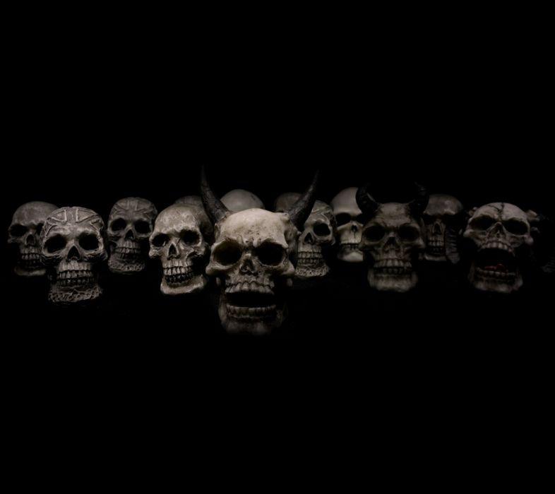 Skull Horror evil occult demon satan satanic wallpaper