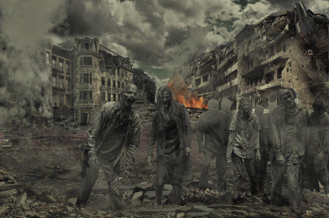 Walking Dead Zombie Horror wallpaper