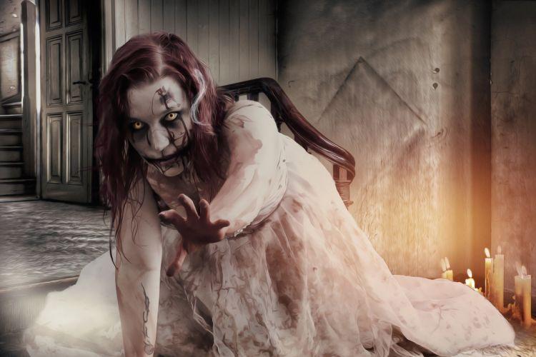 Gothic Goth Horror Dark Zombie Zombie Girl vampire wallpaper