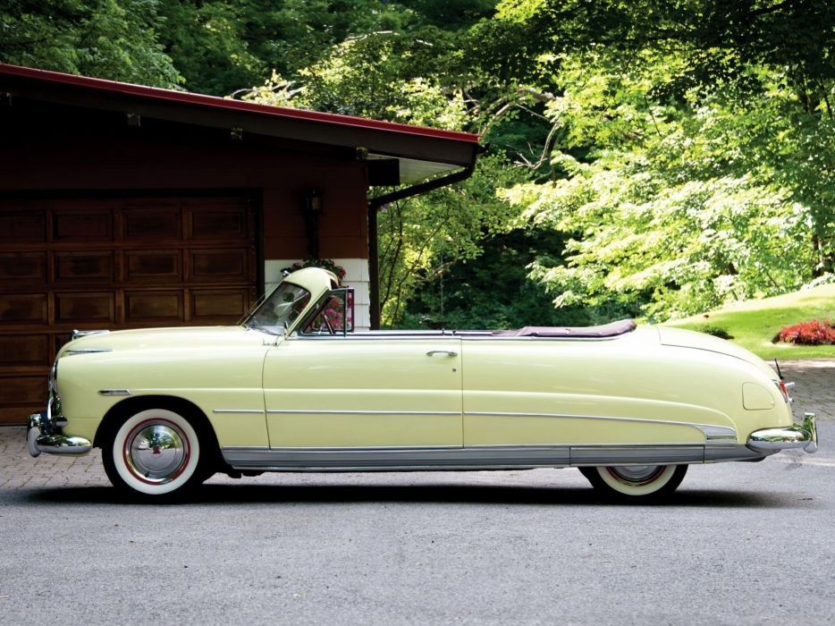 1951 Hudson Hornet Brougham cars classic Convertible wallpaper