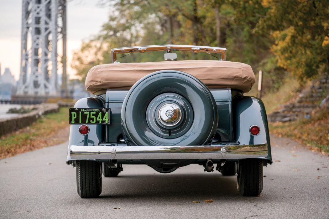 1933 Chrysler Custom Imperial Dual Cowl Phaeton Ralph Roberts Special LeBaron cars retro  wallpaper