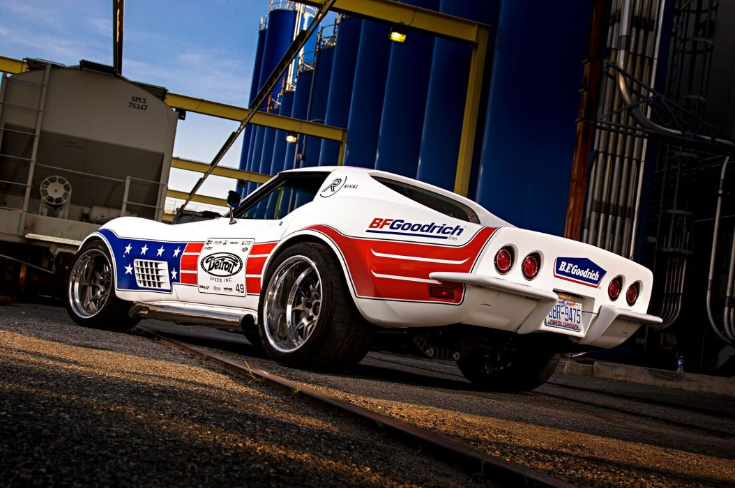 1972 (C3) chevy chevrolet Corvette wallpaper