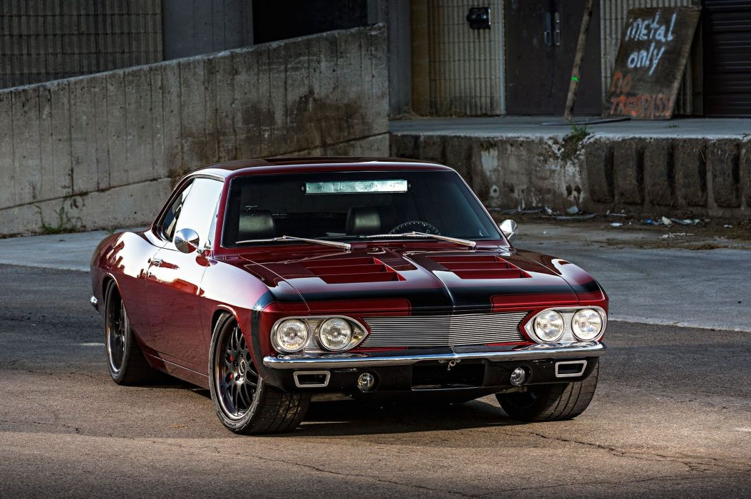 Pro Touring 1966 Chevy Corvair cars modified wallpaper